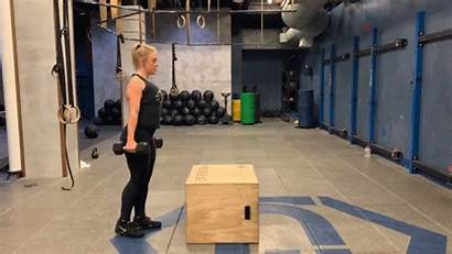 Step Dumbbell Health Exercise Fitness Butt Brazilian