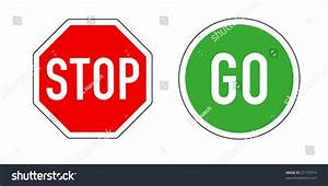 Stop And Go : stop go traffic signs on white stock vector 27155914 shutterstock ~ Medecine-chirurgie-esthetiques.com Avis de Voitures