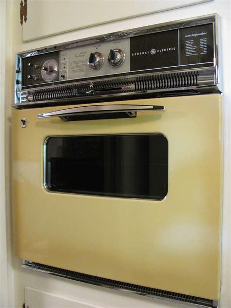vintage general electric oven  glowing harvest  flickr