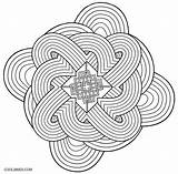 Kaleidoscope Coloring Pages Printable Sheets Adult Cool2bkids Books Jawar sketch template