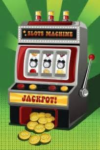Cartoon Slot Machine Jackpot