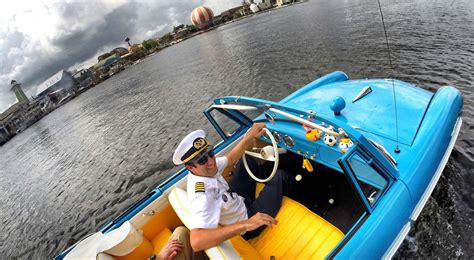 Boat Car Disney Springs by Collection Of Hicars Delights Guests At Disney