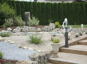 amenagement jardin avec pierres 9 amenagement paysager With amenagement jardin avec bassin