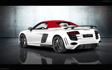 Audi R8 Spyder by Mansory Audi R8 Spyder 2011 Widescreen Car Picture