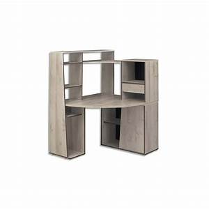 gautier bureau dangle avec surmeuble mambo dimensions With bureau d angle avec surmeuble