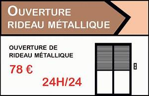 ouverture de rideau metallique montesson a 39eur With serrurier montesson