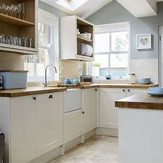 Pale Blue And Cream Kitchen  Housetohomecouk