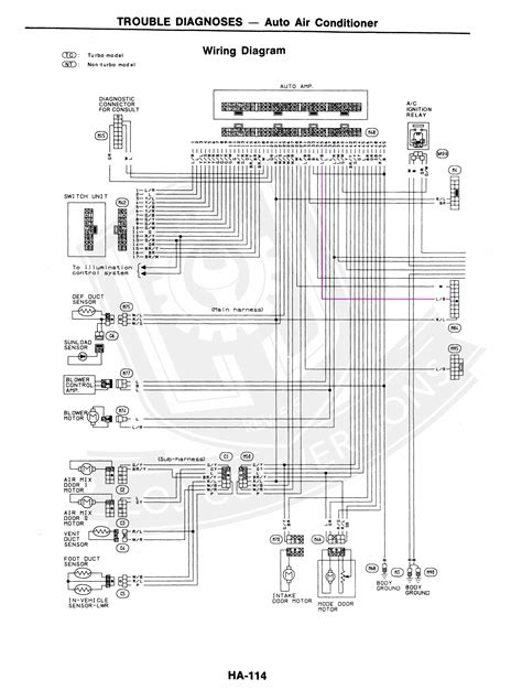 300zx Ecu Wiring by Wiring The Ac In A 300zx Engine Conversion Loj Conversions
