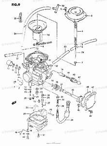 Suzuki Atv 1995 Oem Parts Diagram For Carburetor