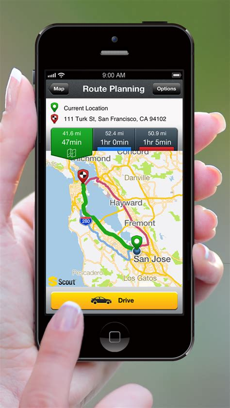 gps app for iphone scout gps voice navigation app gets iphone 5 support