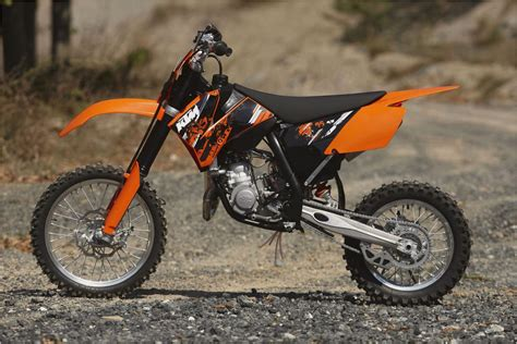 2013 Ktm 85 Sx Motorcycle Review @ Top Speed  Motorcycles