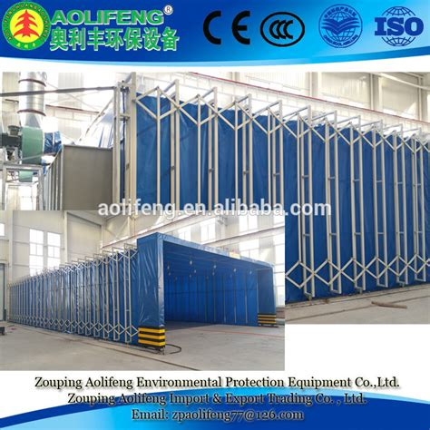 retractable spray booth folded paint booths for sale buy