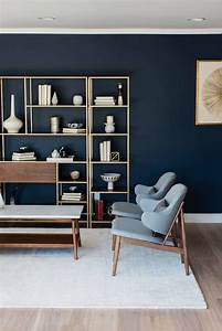 Navy, And, Gold, Interiors, That, Prove, The, Best, Combo, For, An, Elegant, Home