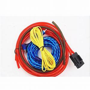 60w Installation Wires Cables Kit Wiring Amplifier Car