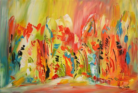 peinture moderne abstraite fleurs peinture abstraite moderne de l artiste peintre ame sauvage