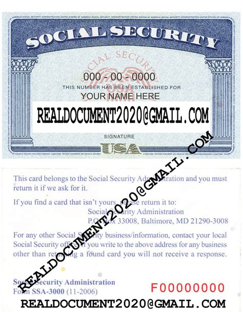 From understanding how to order a social security card online to empowering you to apply for the right documentation, we're here to help you. Buy Fake SSN Card, Social Security Card Online, Fake Social Security Card