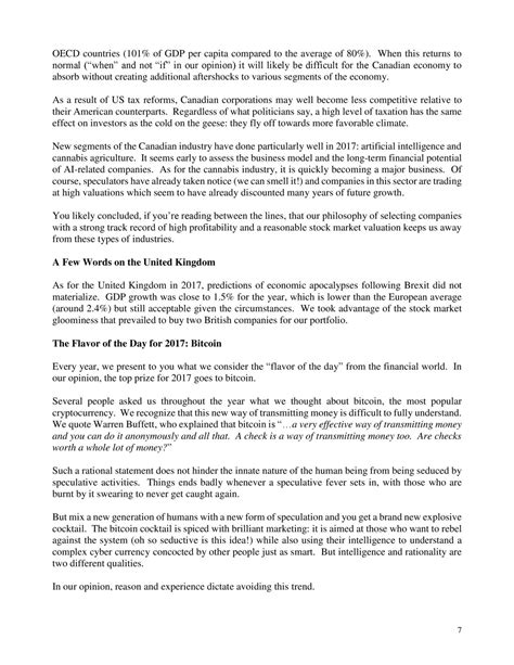 Giverny Capital Annual Letter To Our Partners 2017 - LKQ