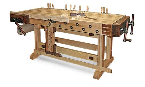 customized essential workbench finewoodworking