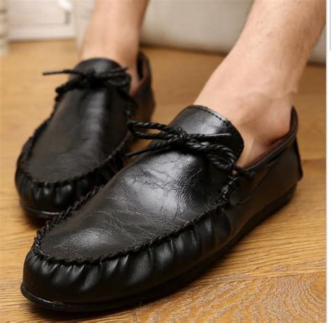 New Brand Lounged Moccasins Soft Leather Shoes For