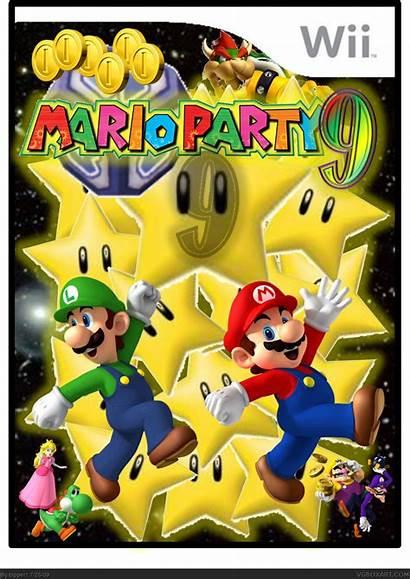 Mario Party Wii Box Boxes Vgboxart