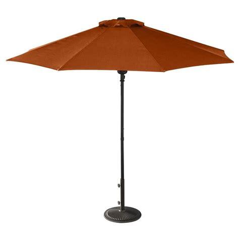 Patio Umbrella by Island Umbrella Terra Cotta Market 9 Ft Octagon Patio