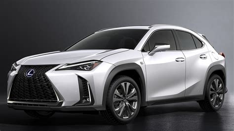 Lexus Unveils New Ux Compact Crossover To Attract Young