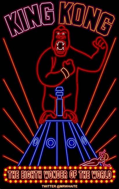 Digital Neon Signs Films Kong King Designstack