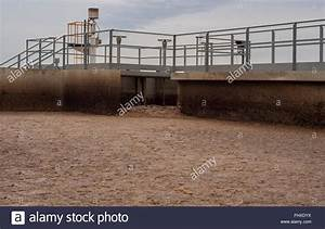 Activated Sludge Tank At A Wastewater Treatment Plant