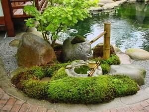 Japanischer Garten Pflanzen : steingarten anlegen und eine naturgem e und attraktive gartengestaltung genie en ~ Markanthonyermac.com Haus und Dekorationen