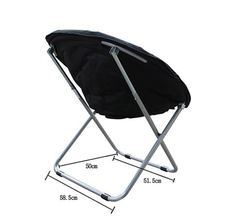 bn cing outdoor moon chair oval roundabout papasan chair black ebay