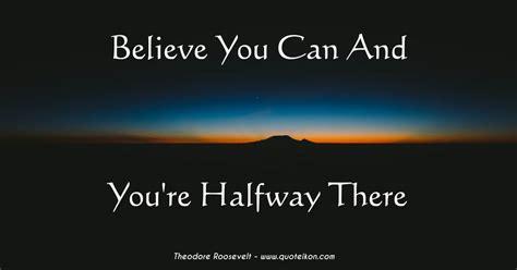 youre halfway