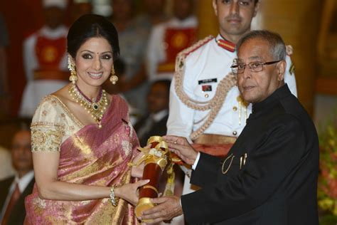 Image result for sridevi with padmashri