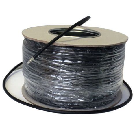 coaxial cable rg58 u low loss black 100m