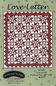 love letter quilt pattern 748252105813 With love letters quilt pattern