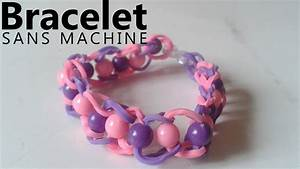 Bracelet Avec Elastique : comment faire un bracelet en lastique avec des perles youtube ~ Melissatoandfro.com Idées de Décoration