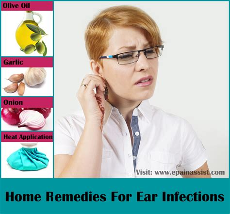 Home Remedies For Ear Infections Ear Swelling Pain