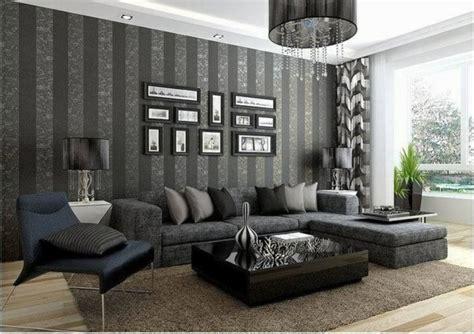 Schwarze Tapete Wohnzimmer by Vliestapeten Die Frische Ins Wohnzimmer Bringen