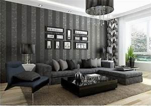 Schöne Wohnzimmer Farben : vliestapeten die frische ins wohnzimmer bringen ~ Indierocktalk.com Haus und Dekorationen