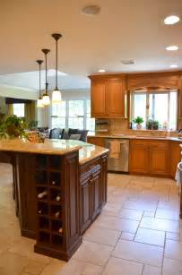 two tone kitchen manasquan new jersey by design line kitchens - Custom Built Kitchen Island