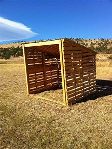 How to build a pallet goat shed Cerita aku
