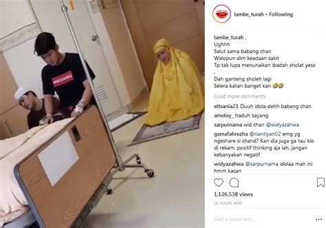Chand Kelvin Kaget Video Salatnya Saat Sakit Jadi Viral