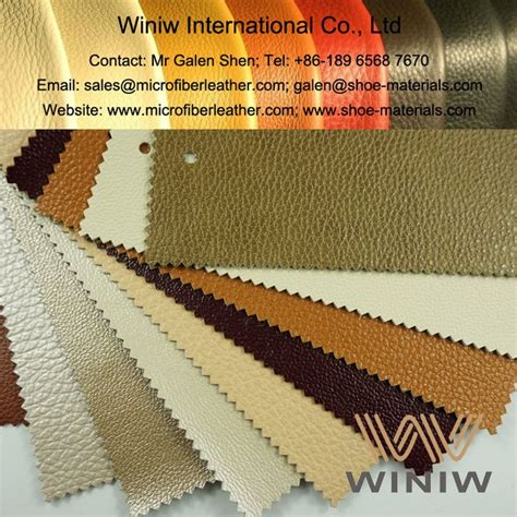high quality faux leather upholstery leather fabric