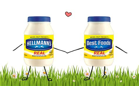 hellmans   foods   real mayo  stand