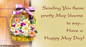 A May Basket On May Day. Free May Day eCards, Greeting ...