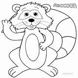 Coloring Raccoon Printable Template Tree Cool2bkids Everfreecoloring Facts Templates sketch template