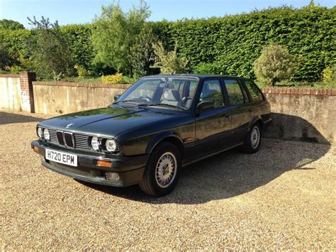 Bmw 320i For Sale by Bmw E30 320i Touring Malachite Green Manual For Sale 1990