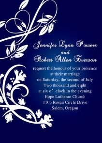royal blue wedding invitations royal blue pocket wedding invitations with free rsvp cards ewpi055 as low as 1 69