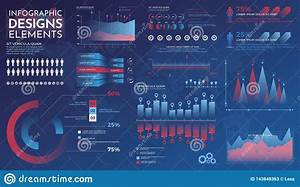 Infographics Elements  Modern Infographic Vector Template
