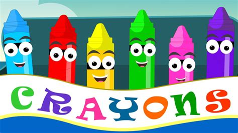what rhymes with color crayons color song for kid songs child rhyme and nursery