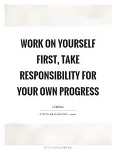 Take Responsibility for Yourself Quote